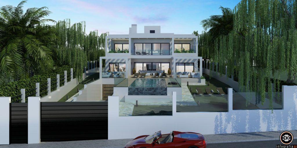 ARFV1209 - Moderna villa de lujo en venta en Elviria en Marbella