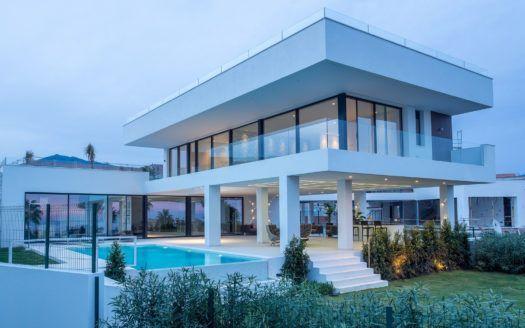 ARFV1734 - Proyecto - 14 villas con vistas panorámicas en venta en La Alqueria en Benahavis