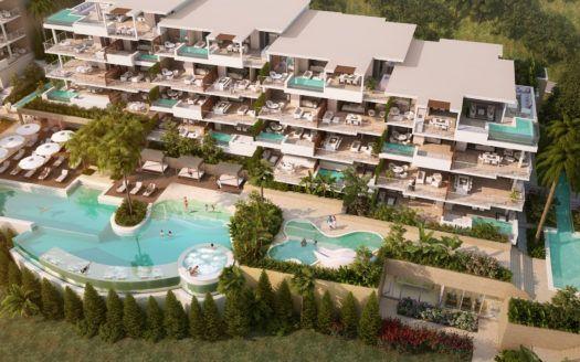 ARFA1145-1 - Exclusivos apartamentos y áticos nuevos en venta en La Cala de Mijas con vistas al mar