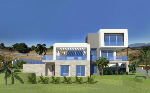 ARFV1855 - 10 modernas villas de nueva construcción en venta en La Cala Golf