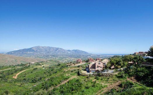12 parcelas para construir villas en La Mairena en Marbella en venta