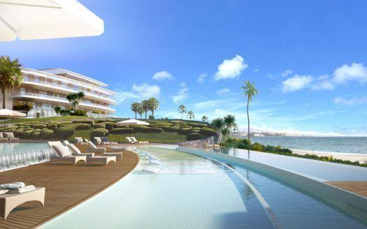ARFA1176 - Áticos y apartamentos de lujo en venta directamente en la playa de Estepona