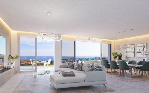 ARFA1307 - Proyecto de nueva construcción de apartamentos y áticos en venta en Calanova Golf en Mijas