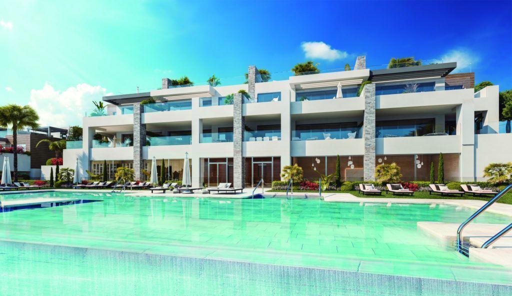 ARFA1324 - Nuevo proyecto de construcción de apartamentos en Artola Alta en Marbella