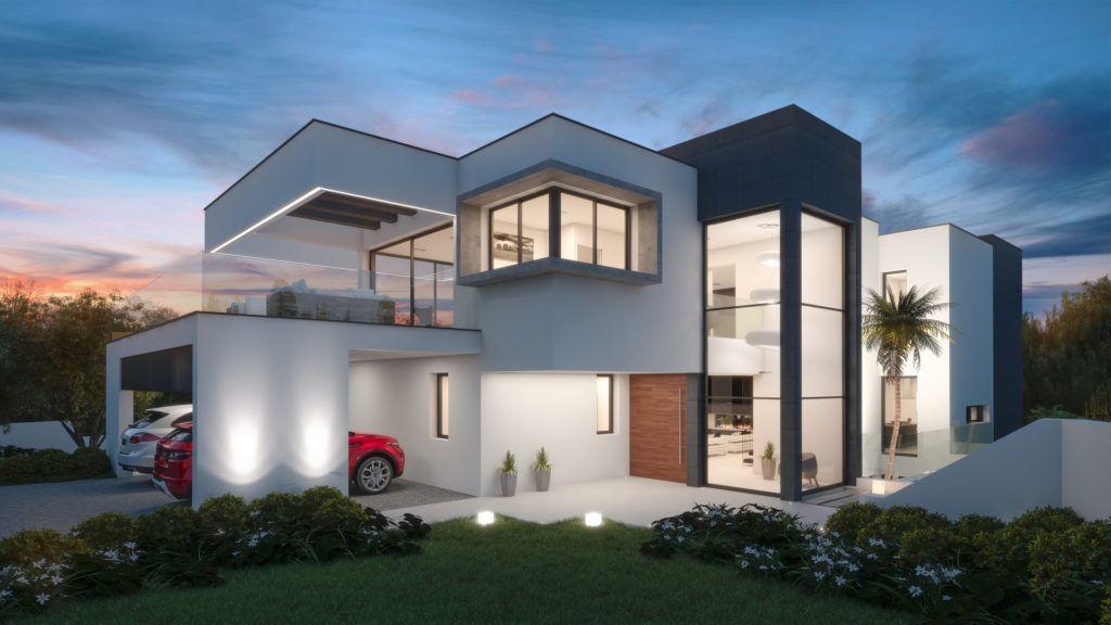 ARFV1994 - Moderna villa nueva en venta en La Cerquilla en Nueva Andalucía