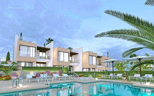 ARFTH154 - 8 propiedades de nueva construcción en venta en Nueva Andalucía