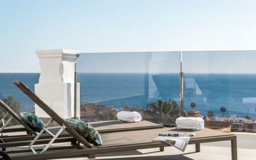 ARFA1317 - Apartamentos modernos con vista al mar en venta en Manilva