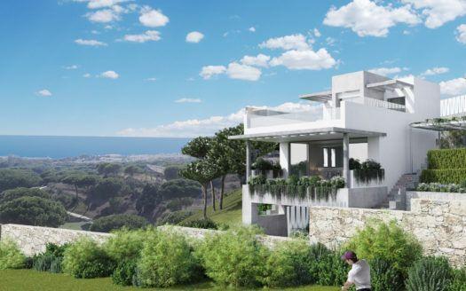 ARFTH127 - Proyecto de 23 casas adosadas y 2 villas en venta en Cabopino en Marbella