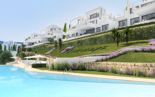 ARFA1243 - Proyecto de nuevos apartamentos y áticos en venta en La Cala Golf en Mijas