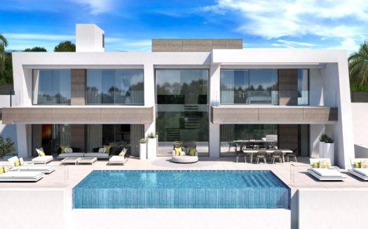 ARFV1967 - Proyecto de 5 villas modernas en venta en El Paraíso en Estepona