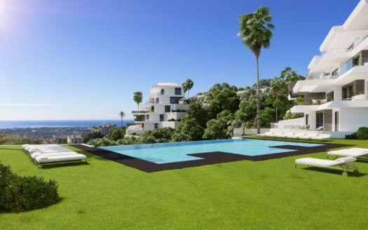 ARFA1284 - 24 apartamentos con la mejor vista al mar en venta en Benahavis