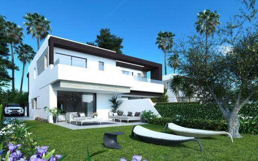 ARFTH148 - 22 modernas casas adosadas en venta en La Resina en Estepona