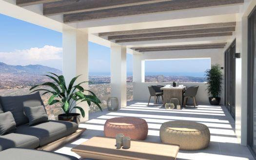 ARFTH147 - 14 casas adosadas en venta en La Mairena al este de Marbella