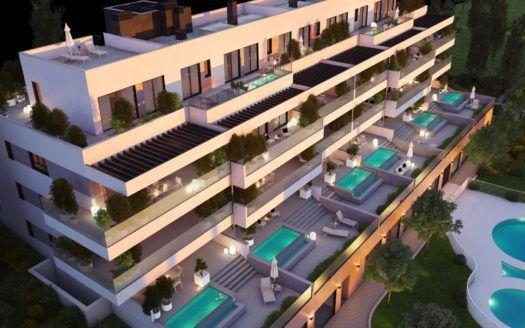 ARFA1351 - Apartamentos y áticos en venta en La Cala de Mijas
