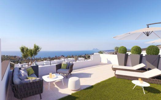 ARFA1261-  Apartamentos en venta con vista al mar cerca de Manilva