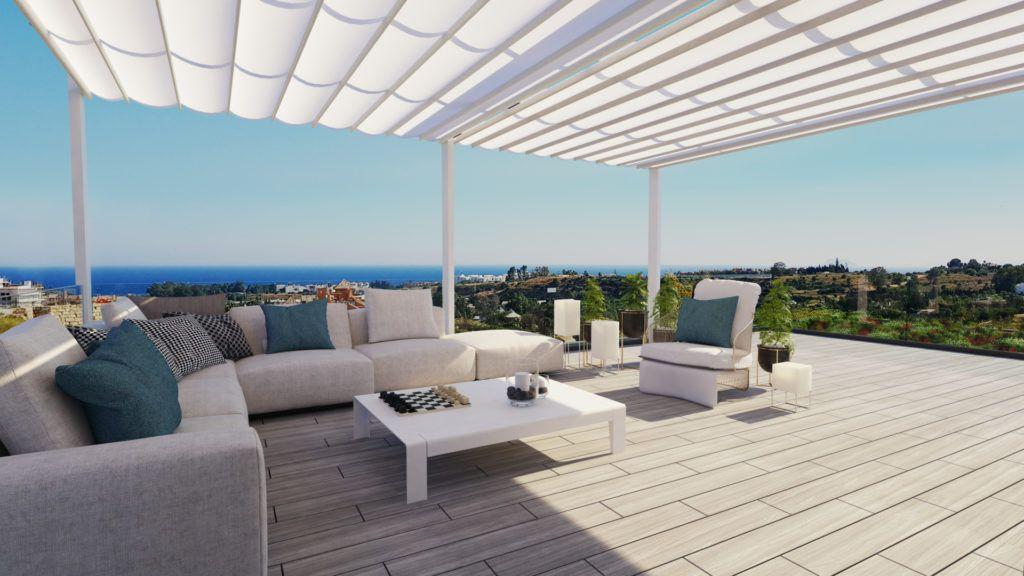 ARFA1308 - Modernos apartamentos y casas adosadas en venta en Cancelada cerca de Marbella