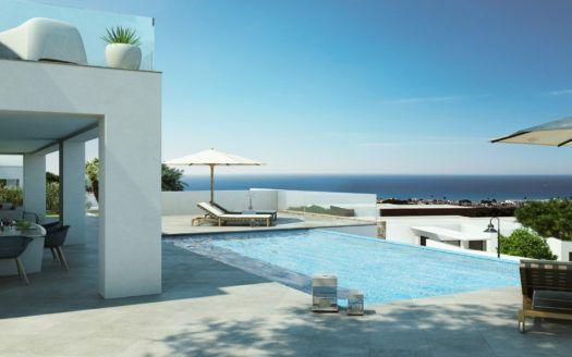 ARFA1260 - 58 modernos apartamentos que se construirán cerca de Marbella