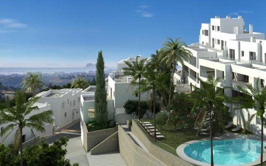 ARFA1187-2 - Projektierte Wohnungen im modernen Stil zum Verkauf in Los Altos de Los Monteros in Marbella