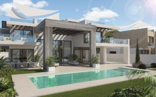 ARFV2010 - Dos fantásticas villas de lujo a la venta en  Rocio de Nagueles en Marbella