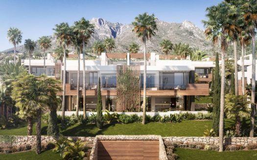 ARFTH151 - Villas de diseño en venta en Sierra Blanca en Marbella