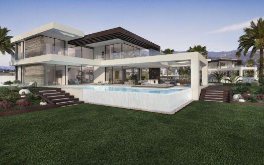 ARFV1978 - 12 nuevas villas en venta en la Urb. Cancelada en Estepona con vistas al mar