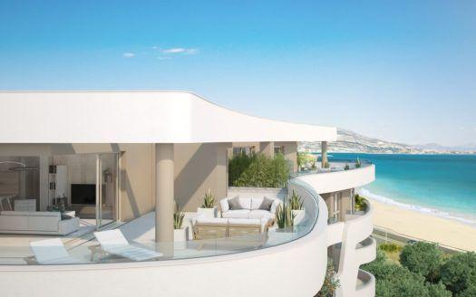 ARFA1242 - Nuevo proyecto de construcción de modernos apartamentos y áticos en venta en Mijas Costa