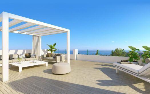 ARFA1226 - Increíble proyecto de apartamentos y áticos contemporáneos en venta en Estepona