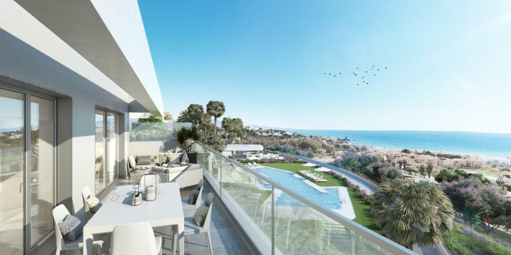 ARFA1316 - Modernos apartamentos frente al mar en venta en Sabinillas