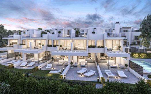 ARFTH141 - 6 casas únicas en venta en la playa de Estepona