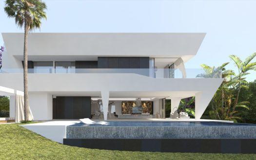 ARFV1814 - Nuevas villas en venta cerca de El Paraíso en Estepona