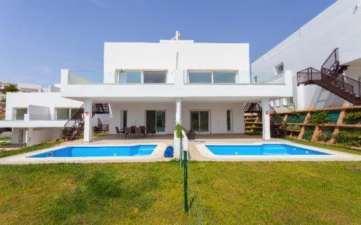 ARFV2119 - Nuevas y modernas casas adosadas en venta en Miraflores Golf en Mijas Costa