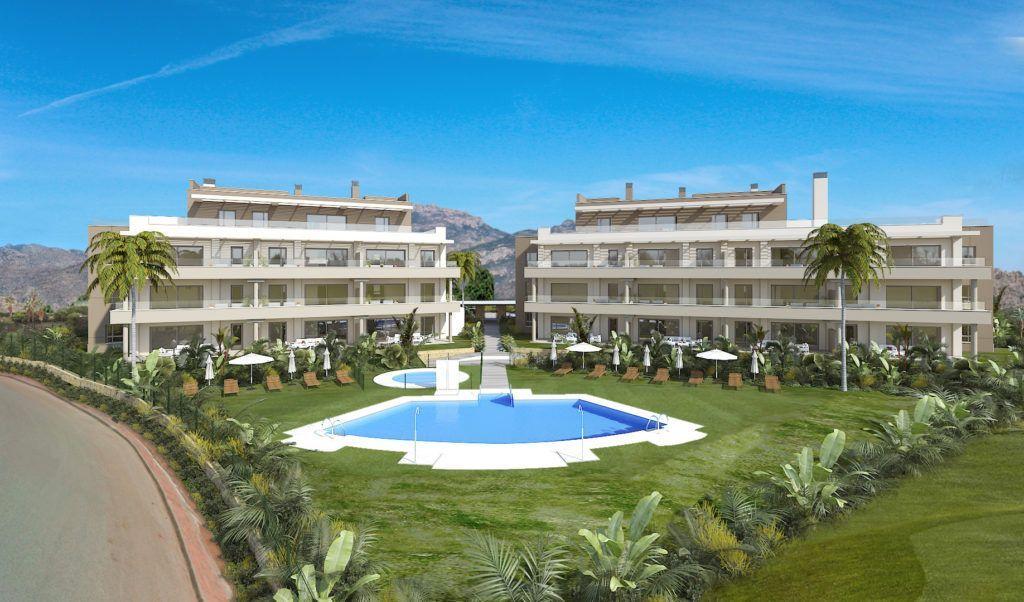ARFA1380 - 23 exclusivos apartamentos y áticos nuevos en venta en la Cala de Mijas