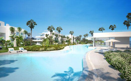 ARFA1388 - 2 modernos apartamentos de esquina en venta en Atalaya Golf cerca de Benahavis