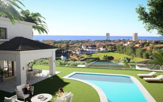 ARFV2152 - 40 villas o casas adosadas en el campo de golf de Elviria en Marbella