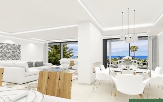 ARFV2162 - Se vende una moderna villa totalmente renovada con impresionantes vistas en Elviria