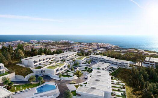 ARFTH167 - Exclusivos adosados con magníficas vistas al mar en venta en Mijas Costa