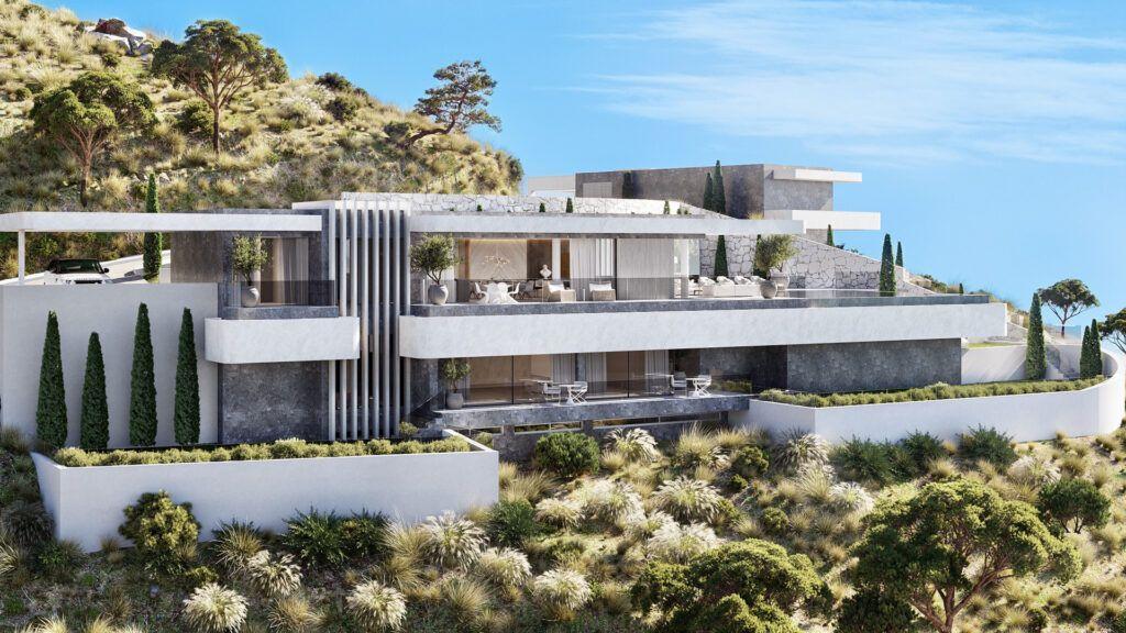 18 Villas de lujo en venta con impresionantes vistas en Real de la Quinta
