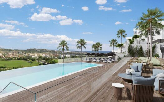 ARFA1423 - Proyecto de apartamentos nuevos en ubicación de golf en venta en La Cala de Mijas