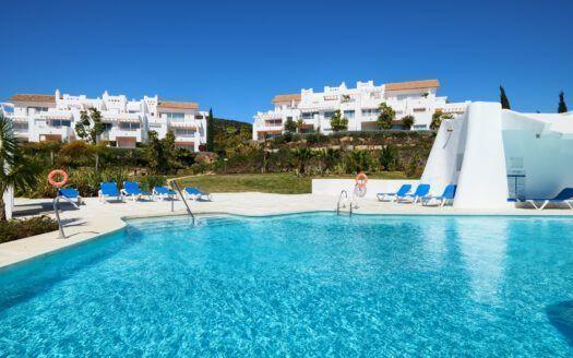 ARFA1428-335 Estupendo apartamento en planta baja en Urb. Alcazaba Lagoon en Casares