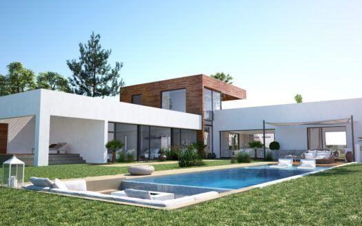 ARFV2186 Proyecto para villa de diseño con vistas privilegiadas en Altos de los Monteros en Marbella