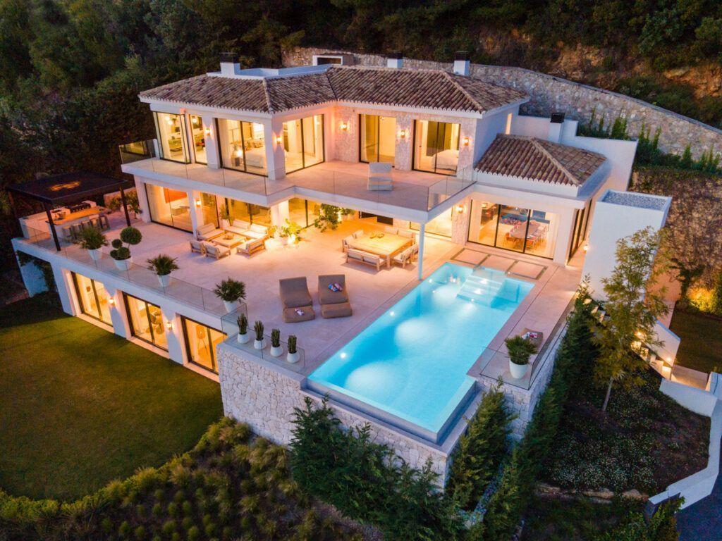ARFV2188 Villa a estrenar en Urb. Cascada de Camoján en Marbella