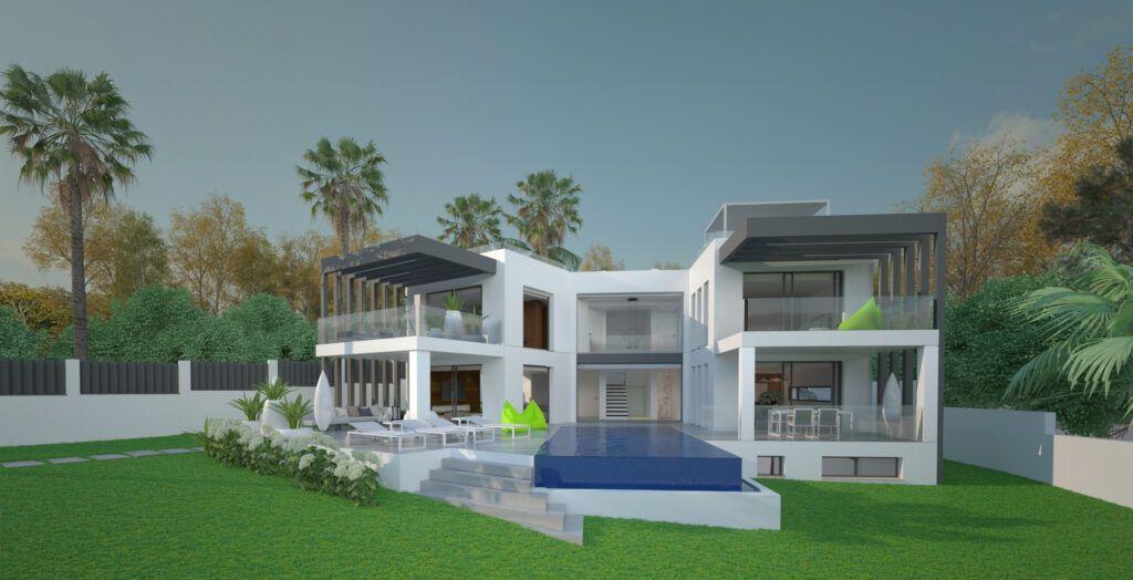 ARFV2168 Excepcional proyecto de villa en un lugar de playa en Marbesa en Marbella