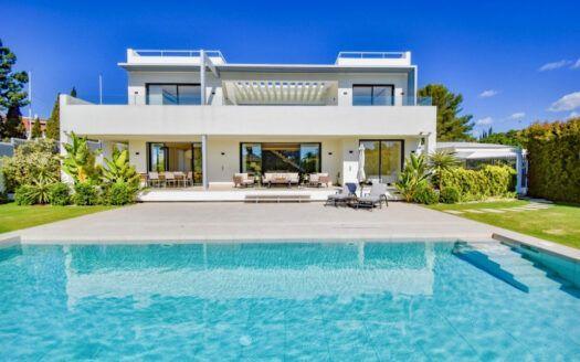 ARFV1891 - Nueva villa en venta en Lomas del Marbella Club en la Milla de Oro de Marbella